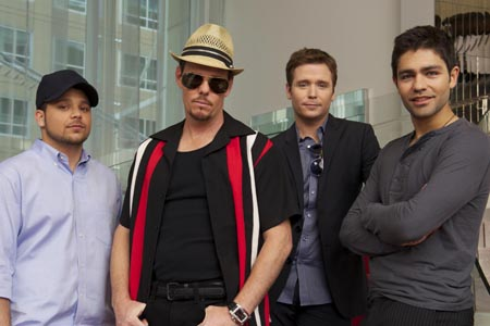 <I>Entourage</I>'s Jerry Ferrara, Kevin Dillon, Kevin Connolly and Adrian Grenier