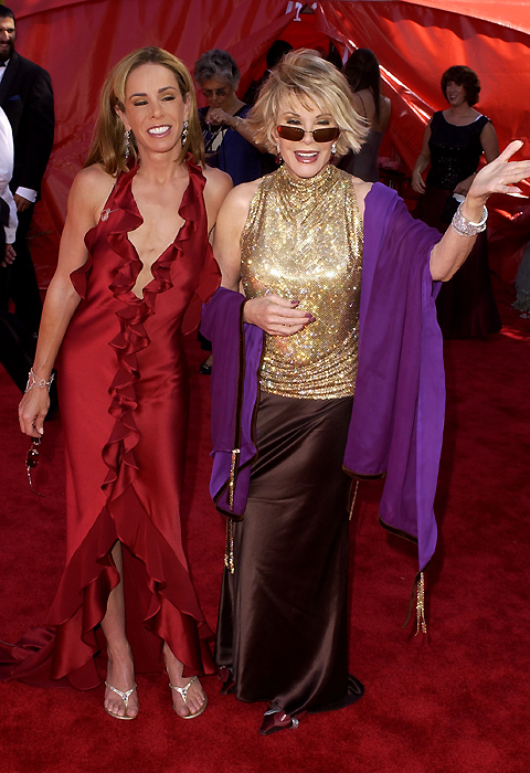 JOAN & MELISSA STEP OUT