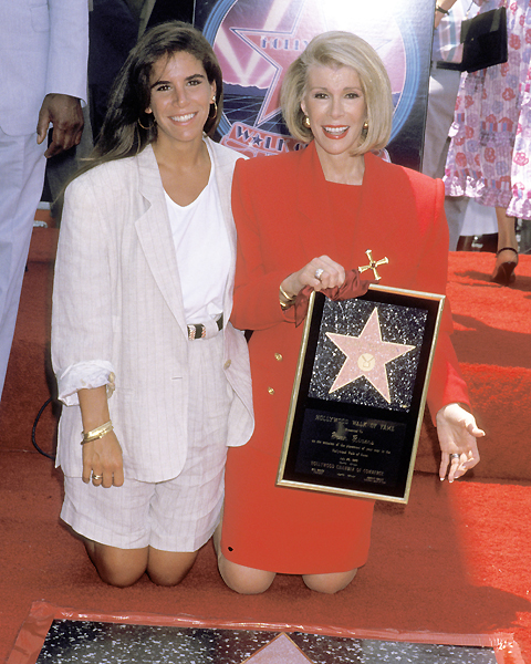 Joan gets her star