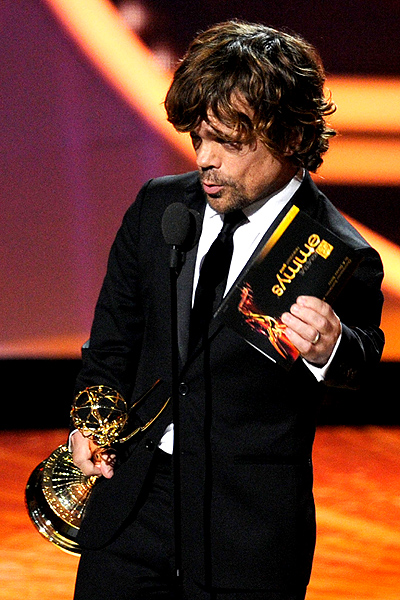 "PETER DINKLAGE ""Game of Thrones"""