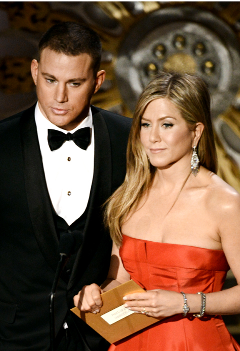 CHANNING TATUM & JENNIFER ANISTON