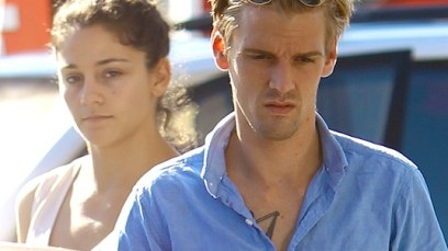 PHOTOS: Aaron Carter Reunites With Druggie Ex-Fiancée After Ranting Online — Troubling Pics! thumbnail