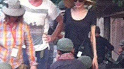 PHOTOS: Angelina Jolie: Scary Skinny While Filming In Cambodia — Disturbing Pics! thumbnail