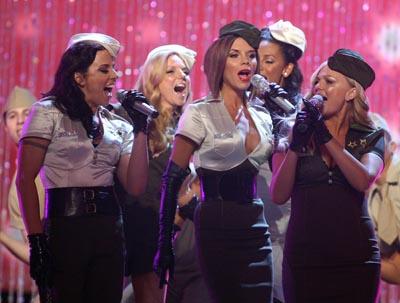 The Spice Girls, Melanie Chisholm, Emma