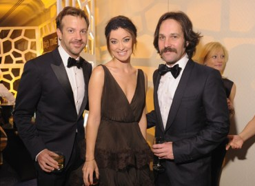 Jason Sudeikis, Olivia Wilde & Paul Rudd