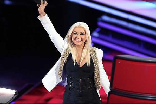 Christina Aguilera on 'The Voice'
