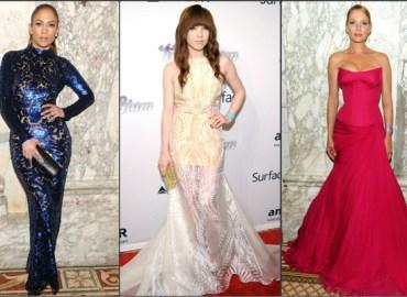 Jennifer Lopez, Carly Rae Jepsen, Uma Thurman