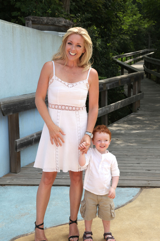 Jane Krakowski & son