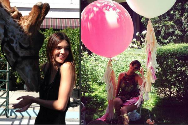 Kendall Jenner & Kourtney Kardashian