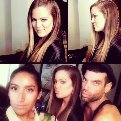 Khloe Kardashian glam squad