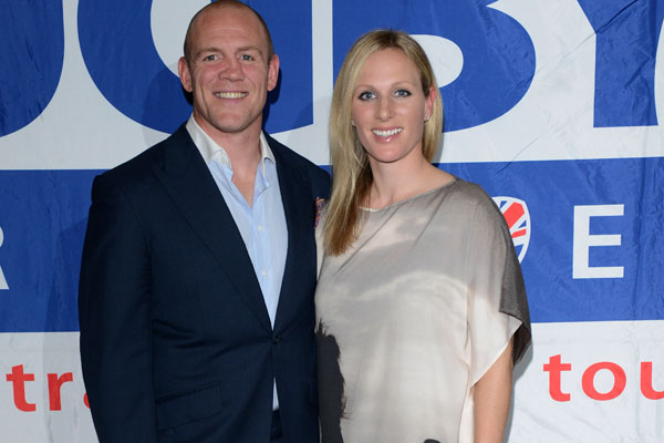Mike Tindall & Zara Phillipss