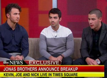 Kevin, Joe & Nick Jonas