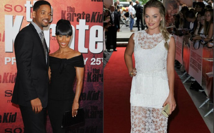 Will Smith, Jada Pinkett Smith & Margot Robbie