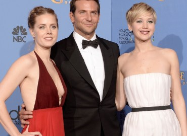Amy Adams, Bradley Cooper & Jennifer Lawrence