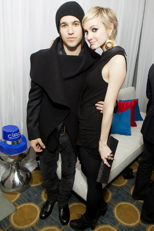 Ashlee Simpson And Pete Wentz Celebrate New Year's Eve 2011