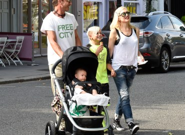 London Celebrity Sightings    July 21, 2014