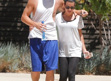 Celebrity Sightings In Los Angeles   August 13, 2014