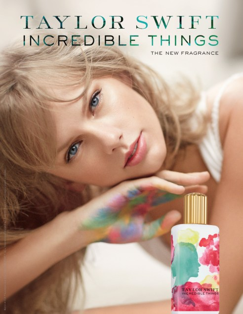 Taylor Swift Incredible Things Ad
