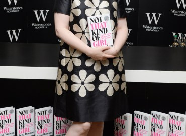 Lena Dunham attends a book signing at Waterstone's, Piccadilly, London