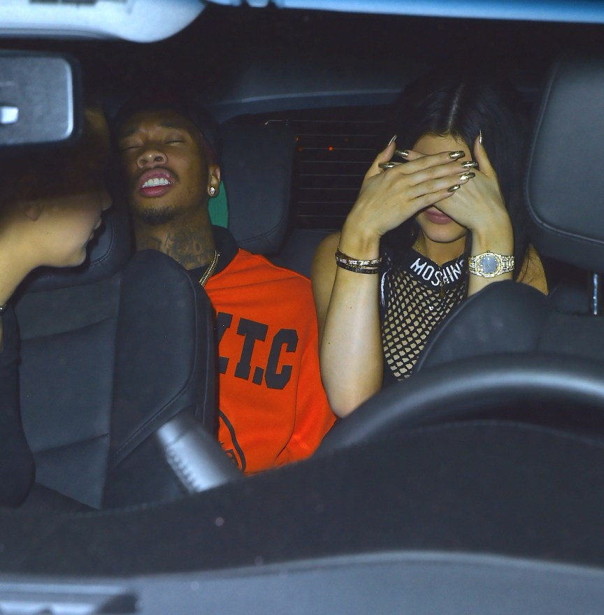 Kylie Jenner and Tyga attend the Met Gala after party together
