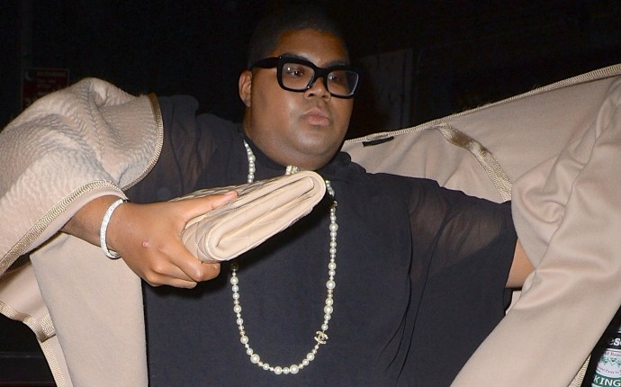 EJ Johnson bears striking resemblance to Andre Leon Talley at Met Gala