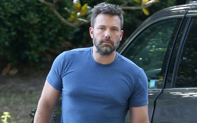 Semi Exclusive... Ben Affleck Looks Upeat As He Steps Out With His Kids
