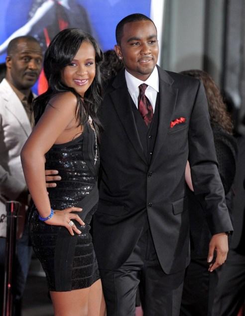 Pictured: Bobbi Kristina Brown and boyfriend Nick Gordon; Photo credit: Jordan Strauss/Invision/AP