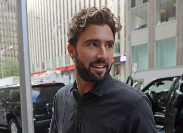 INF   Brody Jenner Smiles while doing some interviews in New York City
