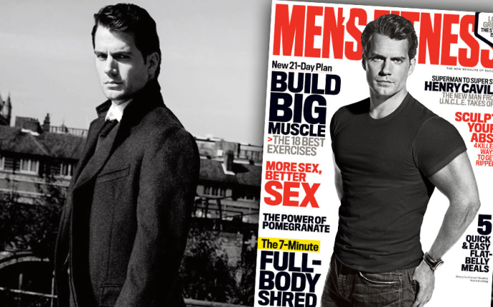 Henry cavill mens fitness man from uncle
