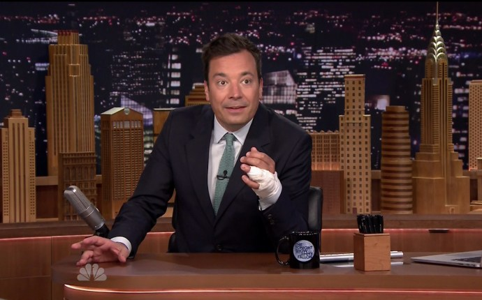 Jimmy Fallon opening 'The Tonight Show Starring Jimmy Fallon'