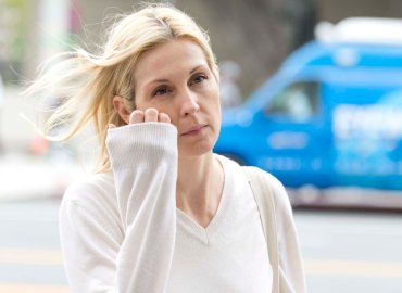 EXCLUSIVE: Kelly Rutherford appeared in a Los Angeles court as she continues her custody fight with ex husband Daniel Giersch.
