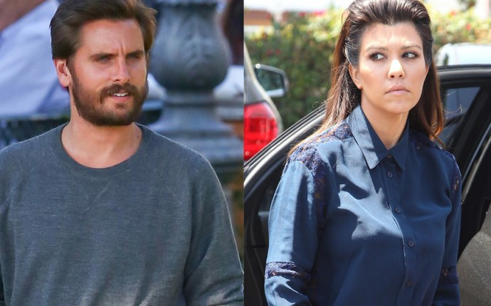 Scott disick kourtney kardashian fight
