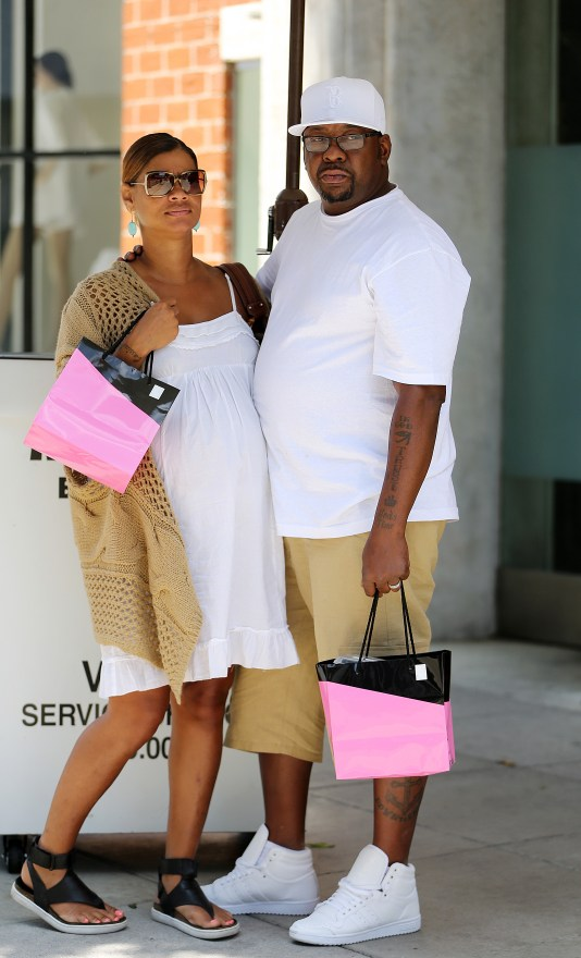 Bobby Browns appears Heart broken as he steps out in Beverly Hills.