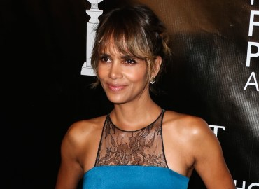 Halle Berry arrives at the Hollywood Foreign Press Association Grants Banquet Dinner 2015