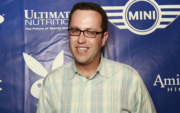 Jared Fogle at The Playboy event