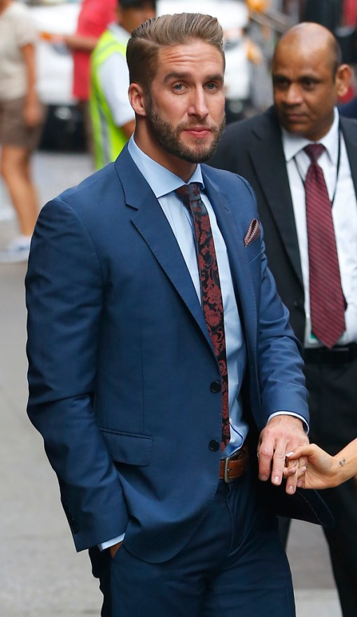 The Bachelorette at 'Good Morning America', NYC
