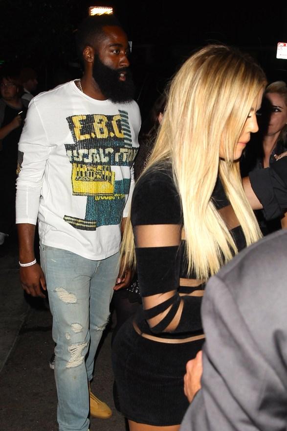 Khloe Kardashian and James Harden celebrate Kylie Jenner's18thBirthday
