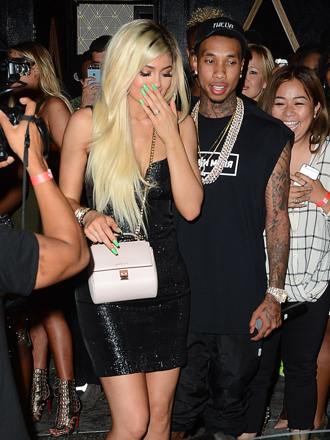 Tyga Gifts Kylie Jenner With a Brand New Ferrari atBootsyBellows