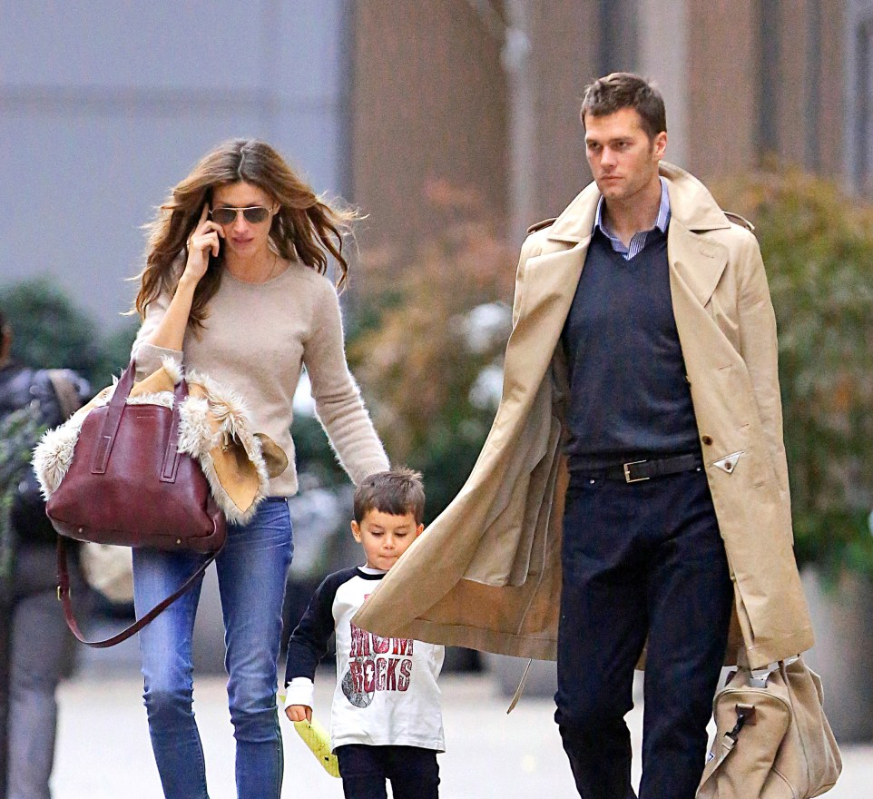 EXCLUSIVE: Gisele Bundchen and Tom Brady back in NYC after their Caribbeangetaway.