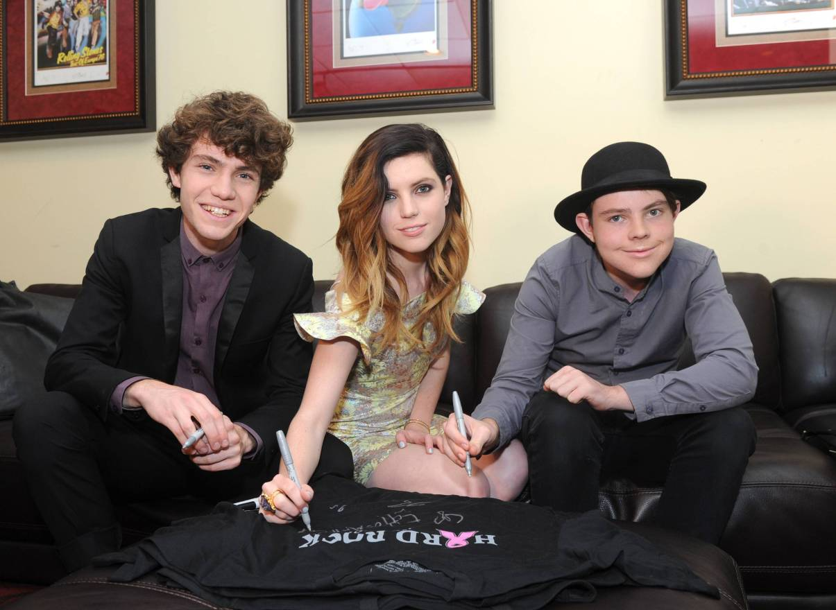 Echosmith at Hard Rock Cafe PINKTOBER Launch