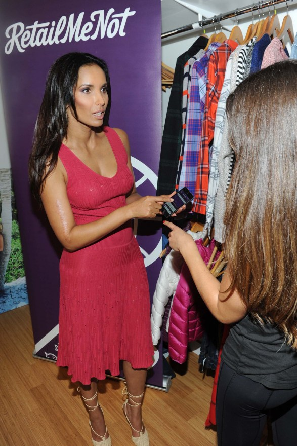 Padma's new favorite shopping app to tap is RetailMeNot for deals on all her fall essentials