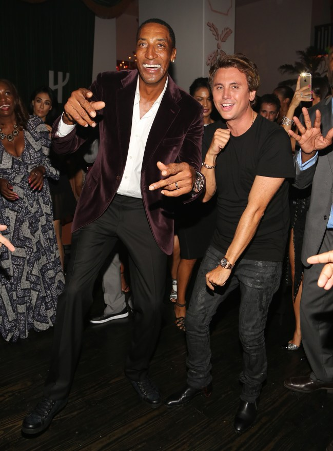 Haute Living Celebrates Scottie Pippen 50th Birthday