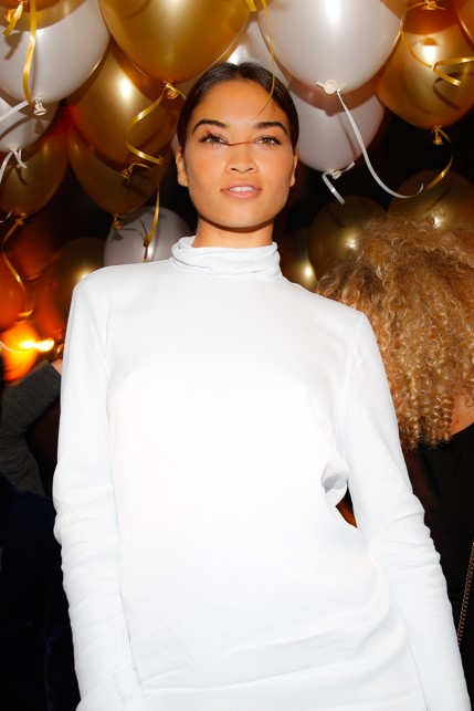 Shanina Shaik 1OAK POP UP PFW