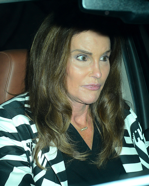 Caitlyn Jenner and Candis Cayne Have a Date Night at Fig and Olive
