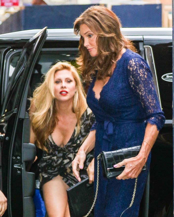 INF - Caitlyn Jenner Heads To A Broadway Show