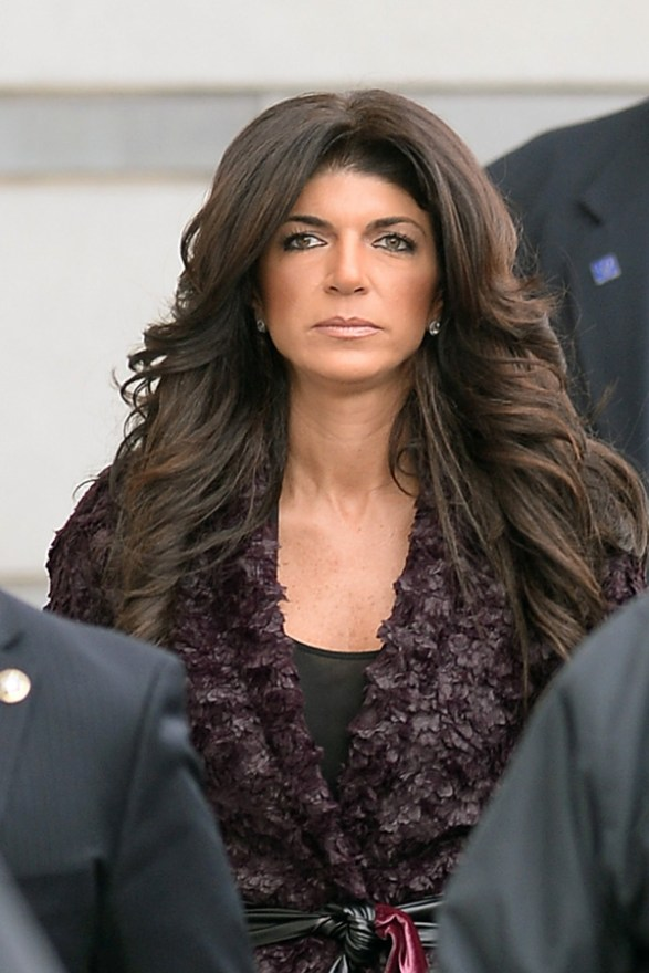 Teresa Giudice And Husband Joe Giudice Arrived at New Jersey Federal Criminal Court