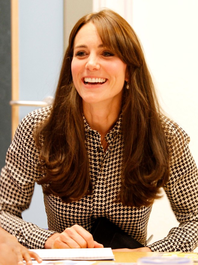 The Duchess of Cambridge visits the Anna Freud Family School