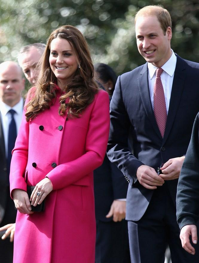 The Duke and Duchess of Cambridge visit an XLPCommunityBus