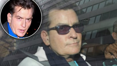 charlie sheen hiv positive blackmail cover up