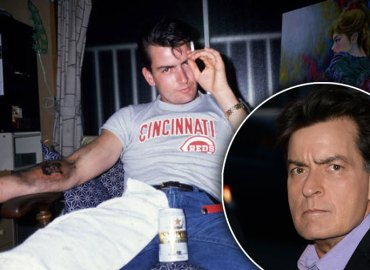 charlie sheen hiv positive ten million cover up